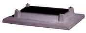 Couronne d'aspirateur extracteur statique en béton SEBIDAL pour souche avec doublage dim.int.20x20cm - Sorties de toit - Couverture & Bardage - GEDIMAT