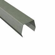 Couvre-joint en zinc naturel �p.0,65mm d�v.14cm long.2,00m - Quincaillerie de couverture et charpente - Quincaillerie - GEDIMAT
