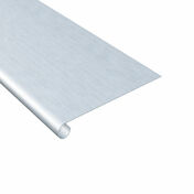 Bande de doublis en zinc naturel ép.0,65mm long.2m développé 33cm - Rouleau polyamide texturé spécial fer manche polypropylène creux larg.110mm diam.15mm - Gedimat.fr
