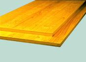 Panneau de coffrage Sapin/Epicéa 3 plis ép.27mm larg.50cm long.2,50m - Panneaux lattés et lamellés-collés - Bois & Panneaux - GEDIMAT