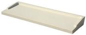 Appui de fenêtre en béton polymère REXLAN R270 finition carrée coloris ivoire prof.27cm long.0,60m - Appui de fenêtre teinte naturelle long.3,00m larg.38cm - Gedimat.fr