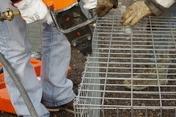 Agrafe galvanisée pour gabion - Murs de soutènement - Talus - Matériaux & Construction - GEDIMAT