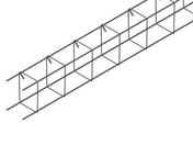 Chaînage standard section 10 x 10 cm 4 aciers HA8 Long.6 m - Bloc béton de chaînage vertical NF B40 ép.15cm haut.20cm long.50cm - Gedimat.fr