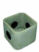 Boîte de raccordement dim.60x60cm haut.40cm - Coude laiton fer/cuivre 90GCU femelle diam.12x17mm à souder diam.14mm - Gedimat.fr