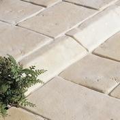 Bordurette CASTELLANE en pierre reconstituée ép.16cm haut.12cm long.50cm coloris Ardèche - Bois Massif Abouté (BMA) Sapin/Epicéa non traité section 60x120 long.5m - Gedimat.fr