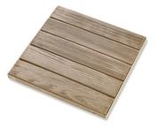 Dalle caillebotis RIVA en pierre reconstituée aspect bois ép.3,4cm dim.50x50cm ton chêne claire - Contreplaqué tout Okoumé CTBX SELECTION ép.40 larg.1,22m long.2,50m - Gedimat.fr