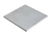 Dalle en béton ESPACE ép.2,5cm dim.50x50cm coloris Ardèche - Porte de service isolante VANNES en PVC ISO100 Blanc gauche poussant haut.2,15m larg.90cm - Gedimat.fr