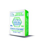 Chaux colorée HL2 sac 30kg teinte 022 - Ciments - Chaux - Mortiers - Matériaux & Construction - GEDIMAT