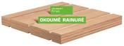 Contreplaqué rainuré 2 faces tout Okoumé CTBX ép.15mm larg.1,207mm long.2,50m - Bois Massif Abouté (BMA) Sapin/Epicéa non traité section 45x145 long.7m - Gedimat.fr