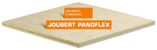 Contreplaqué cintrable exotique B PANOFLEX ép.7mm larg.1,22m long.2,50m - Doublage isolant plâtre + polystyrène PREGYSTYRENE TH32 ép.10+130mm larg.1,20m long.2,50m - Gedimat.fr