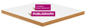 Contreplaqué Okoumé sélectionné CTBX PUBLIGRAPH ép.18mm larg.1,53m long.3,10m - Rive individuelle droite PLATE 17x27 Phalempin coloris Val de seine - Gedimat.fr