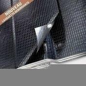 Isolant mince rouleau multicouche TRISO-SUPER 12 bords décalés avec adhésif ép.35mm larg.1,60m long.10m - Panneau de Particule Surfacé Mélaminé (PPSM) ép.8mm larg.2,07m long.2,80m Grimsey finition Velours Bois poncé - Gedimat.fr