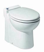 Broyeur WC COMPACT 54 SFA haut.46cm larg.50cm long.37cm blanc - Revêtement mural pin maritime massif 3D NEOGRAPHE ép.10-18mm larg.70mm long.500mm Guggenheim blanc - Gedimat.fr