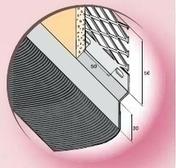 Solin acier déployé nuance zinc avec bavette 20cm en plomb plissé laqué ardoise long.2m - Solins - Abergements - Couverture & Bardage - GEDIMAT