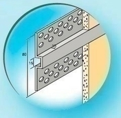 Joint PLAT Aluminium anodisé ép.10mm long.3,00m - Enduits de façade - Revêtement Sols & Murs - GEDIMAT