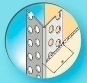 Protège-angle pour cloisons sèches perforé pvc blanc long.2,50m - Ecrou laiton brut plat hexagonal diam.12x17mm sur carte de 2 pièces - Gedimat.fr