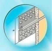 Joint FIL Aluminium laqué ép.10mm long.3,00m - Enduits de façade - Revêtement Sols & Murs - GEDIMAT