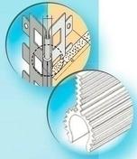 Protège-angle sortant en acier galvanisé perforé avec jonc Fil blanc ép.15mm long.3,00m - Enduits de façade - Aménagements extérieurs - GEDIMAT