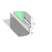 Solin acier déployé nuance zinc avec bavette 20cm en plomb plissé naturel long.2m - Plan de travail brut hydrofuge P3 ép.28mm larg.0,607m long.1,85m - Gedimat.fr