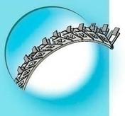 Protège-angle pour cintre en acier galvanisé perforé avec jonc pvc noir ép.10mm long.3,00m - Enduits de façade - Revêtement Sols & Murs - GEDIMAT