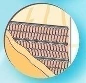 Lattis support d'enduit en acier galvanisé avec papier siliconé long.2,50m larg.60cm - Enduits de façade - Aménagements extérieurs - GEDIMAT