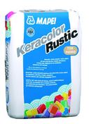 Mortier de jointoiement KERACOLOR RUSTIC classe CG2WA sac de 25kg coloris ton pierre - Carrelage pour mur en faïence brillante MAIOLICA dim.20x20cm coloris latte - Gedimat.fr