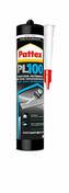 Colle Pattex PL100 fixation polymère cartouche de 300ml blanc - Colles - Adhésifs - Peinture & Droguerie - GEDIMAT