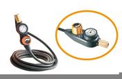 Tuyau pour compresseur avec régulateur de pression à distance Pressy Kit long.5m - Carrelage pour sol en grès cérame émaillé TEOREMA dim.33,3x33,3cm coloris salvia - Gedimat.fr