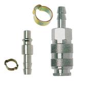Kit de montage rapide pour tuyau 6x11mm - Compresseurs - Outillage - GEDIMAT