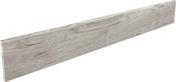Plinthe SALOON en grès cérame émaillé larg.10cm long.80cm coloris 5 gris clair - Fronton de rive ronde pour faîtière cylindrique de 40cm TERREAL coloris cathédrale - Gedimat.fr