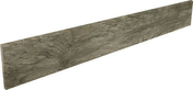 Plinthe SALOON en grès cérame émaillé larg.10cm long.80cm coloris 15 gris foncé - Barrette en pierre naturelle L'YONNE - Gedimat.fr