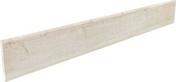 Plinthe SALOON en grès cérame émaillé larg.10cm long.80cm coloris 1 blanc - Chevêtre ULYSSE mur section 17x20 cm long.3,60m - Gedimat.fr