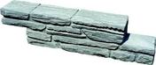 Bloc-mur instone ARDELIA haut.15cm larg.11cm long.60cm coloris graphite - Piliers - Murets - Am�nagements ext�rieurs - GEDIMAT