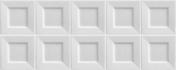 Carrelage pour mur en faïence CUBIC larg.20cm long.50cm coloris white - Carrelage pour mur en faïence IPER GLOSSY larg.20cm long.33,3cm coloris touch glossy - Gedimat.fr