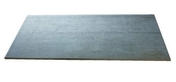 Carrelage pour sol en grès cérame émaillé BETONAGE larg.30,5cm long.60,5cm coloris gris - Pied de snack télescopique haut de 90 à 110cm coloris inox brossé - Gedimat.fr