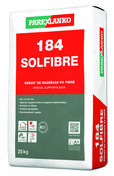 Enduit de ragréage fibré 184 SOLFIBRE - sac de 25kg - Gedimat.fr