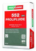 Mortier-colle amélioré fluide spécial sol à grand trafic C2 G U4 P4S 552 PROLIFLUIDE GRIS sac de 25kg - Gedimat.fr