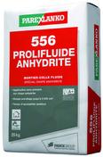 Mortier-colle fluide spécial chape anhydrite 556 PROLIFLUIDE ANHYDRITE sac de 25kg - Ciments - Chaux - Mortiers - Matériaux & Construction - GEDIMAT