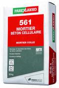 Mortier colle 561 MORTIER BETON CELLULULAIRE sac de 25kg - Gedimat.fr