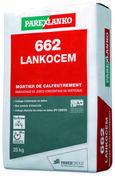Mortier de calfeutrement 662 LANKOCEM 25KG - Ciments - Chaux - Mortiers - Matériaux & Construction - GEDIMAT