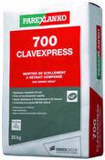 Mortier de scellement à retrait compensé 700 CLAVEXPRESS 25KG - Ciments - Chaux - Mortiers - Matériaux & Construction - GEDIMAT