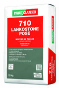 Mortier de pavage 710 LANKOSTONE POSE en sac de 25 kg - Pav�s - Dallages - Mat�riaux & Construction - GEDIMAT