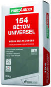 Béton multi-usages 154 BETON coloris gris sac 35kg - Chevêtre ULYSSE section 15x20 cm long.1.80m - Gedimat.fr