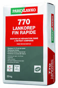 Mortier de réparation 770 LANKOREP FIN RAPIDE - sac de 25kg - Éponge de cimentier grise - 168x112x60mm - Gedimat.fr