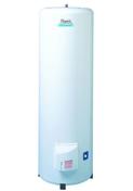 Chauffe-eau OLYMPIC Sauter vertical sur socle 300L blanc - Abri en sapin du nord BIKE BOX ép.12mm dim.1,80x0,9m - Gedimat.fr