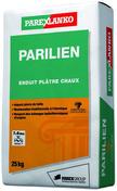 Enduit de façade PARILIEN en plâtre et chaux aérienne en sac de 25kg coloris G20 - Scraper aluminium professionnel lame acier trempé poignée plastique 120cm - Gedimat.fr