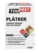 PLATRE DE PARIS TOUPRET 1 KG GSB - Plâtres en poudre - Isolation & Cloison - GEDIMAT