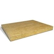 Laine de roche ROCKACIER B NU - 1,20x1m Ep.40mm - R=1,00m².K/W. - Porte seule CIRCEE en épicéa 1er choix non ferrée haut.204cm larg.63cm - Gedimat.fr