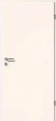 Porte seule PORTALIT haut.2,04m larg.83cm blanc - Bloc-porte PORTALIT haut.2,04m larg.83cm cloison 70mm gauche poussant blanc - Gedimat.fr