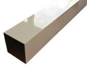 Poteau aluminium blanc 9010 - Laine de verre en panneau roulé BARDAGE 40R revêtue feutre 1 face ép.60mm larg.1,20m long.12m - Gedimat.fr